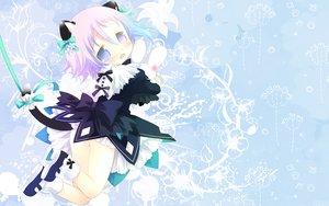 Rating: Questionable Score: 53 Tags: animal_ears blue_eyes blush bow catgirl chrona dress flowers gloves purple_hair ribbons sakurazawa_izumi short_hair soul_eater tail tears User: birdy73