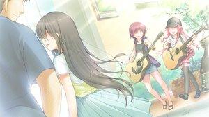Rating: Safe Score: 24 Tags: angel_beats! game_cg group iwasawa_masami key male matsushita na-ga tagme_(character) yui_(angel_beats!) User: Tensa