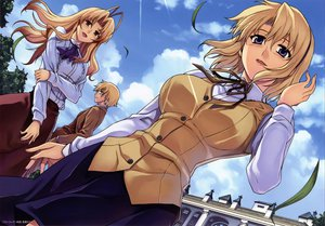 Rating: Safe Score: 67 Tags: blonde_hair bridget_satellizer freezing kim_kwang-hyun scan seifuku User: Wiresetc