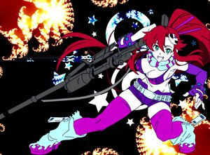 Rating: Safe Score: 15 Tags: tengen_toppa_gurren_lagann yoko_littner User: seanieisere