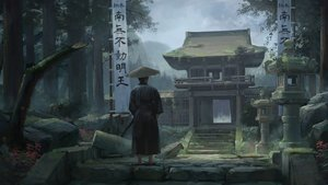 Rating: Safe Score: 58 Tags: all_male hat katana male mikado_(winters) original samurai stairs sword translation_request tree weapon User: RyuZU