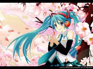 Rating: Safe Score: 37 Tags: aqua_eyes aqua_hair cherry_blossoms flowers haruki_5050 hatsune_miku headphones petals spring twintails vocaloid User: gnarf1975