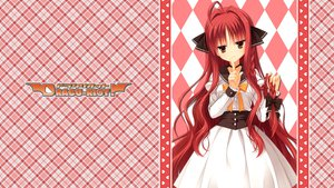 Rating: Safe Score: 57 Tags: braids dracu-riot! long_hair muririn red_hair yarai_miu yellow_eyes yuzusoft User: haseo669