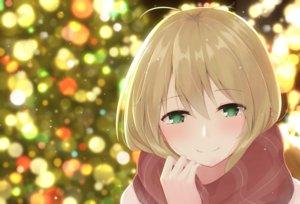 Rating: Safe Score: 36 Tags: blonde_hair christmas close green_eyes night scarf tsurumaki_maki urara_(uraom0te) voiceroid User: otaku_emmy