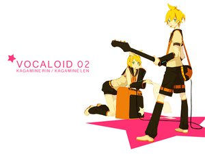 Rating: Safe Score: 18 Tags: kagamine_len kagamine_rin kuko:san vocaloid white User: anaraquelk2