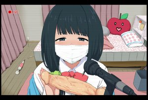 Rating: Explicit Score: 35 Tags: bed black_hair blue_eyes bow camera close dildo go-m hassu mask microphone ponytail school_uniform short_hair ssss.gridman vibrator User: otaku_emmy
