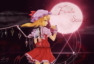 Rating: Safe Score: 30 Tags: blonde_hair flandre_scarlet jcj0125 signed touhou vampire wings User: gnarf1975