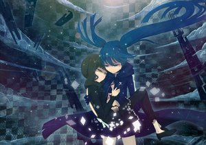 Rating: Safe Score: 102 Tags: black_rock_shooter kuroi_mato tagme tagme_(artist) takanashi_yomi tears User: HawthorneKitty