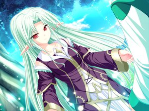 Rating: Safe Score: 16 Tags: cecile_absentia dress game_cg green_hair long_hair magus_tale pink_eyes pointed_ears tenmaso whirlpool User: Oyashiro-sama