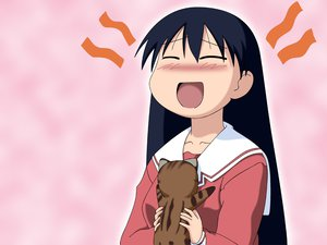 Rating: Safe Score: 18 Tags: animal azumanga_daioh cat maya sakaki User: Oyashiro-sama