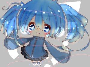 Rating: Safe Score: 47 Tags: blue_eyes blue_hair blush chibi close ene_(kagerou_project) kagerou_project stockings thighhighs twintails ushi_neko User: mattiasc02