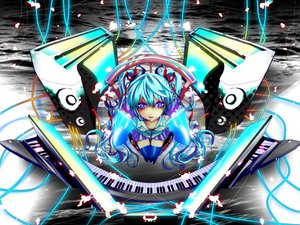 Rating: Safe Score: 15 Tags: haru_aki hatsune_miku twintails vocaloid User: HawthorneKitty