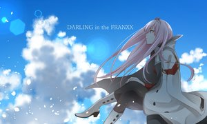 Rating: Safe Score: 15 Tags: boots clouds darling_in_the_frankxx horns long_hair pantyhose petals pink_hair sky tagme_(artist) zero_two User: RyuZU