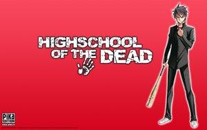 学園黙示録 HIGHSCHOOL OF THE DEADの壁紙 1440×900px 204KB