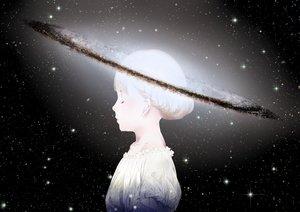 Rating: Safe Score: 81 Tags: black original planet sawasawa short_hair space stars white_hair User: Flandre93