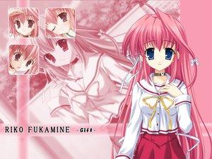 Rating: Safe Score: 24 Tags: fukamine_riko gift_(visual_novel) pink_hair User: Oyashiro-sama