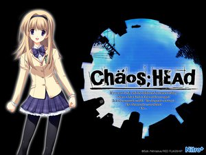 Rating: Safe Score: 16 Tags: blonde_hair chaos;head long_hair nishijou_nanami pantyhose seifuku skirt User: Tensa