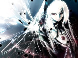 Rating: Safe Score: 26 Tags: kei_(artist) rozen_maiden suigintou User: Oyashiro-sama