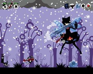 Rating: Safe Score: 29 Tags: cirno fairy ideolo kochiya_sanae moriya_suwako parody patapon snow touhou weapon wings yasaka_kanako User: w7382001