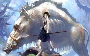 Rating: Safe Score: 50 Tags: ghibli mononoke_hime san User: Oichi