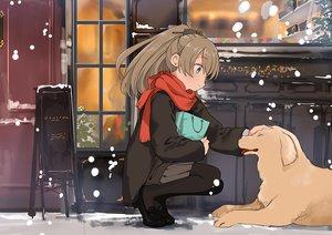 Rating: Safe Score: 29 Tags: animal anthropomorphism aqua_eyes brown_hair dog kantai_collection kasumi_(kancolle) long_hair pantyhose ponytail scarf skirt ume_(plumblossom) User: RyuZU