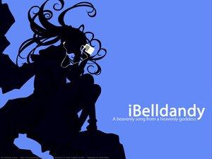 Rating: Safe Score: 12 Tags: aa_megami-sama belldandy blue ipod polychromatic signed silhouette watermark User: korokun