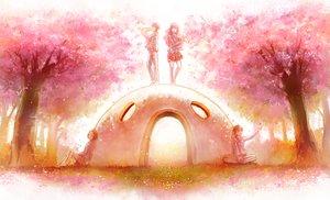 Rating: Safe Score: 74 Tags: arima_kousei cherry_blossoms grass group huamuan_huamuan instrument male miyazono_kaori park sawabe_tsubaki seifuku shigatsu_wa_kimi_no_uso tree watari_ryouta User: mattiasc02