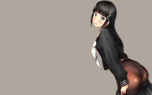 Rating: Questionable Score: 29 Tags: ass black_hair blush green_eyes kurosawa_dia long_hair love_live!_school_idol_project love_live!_sunshine!! nozomi-y panties pantyhose seifuku skirt underwear undressing User: RyuZU