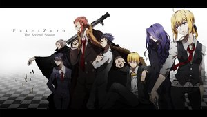 Rating: Safe Score: 96 Tags: fate_zero gilgamesh gun kurohal saber true_assassin weapon zero_berserker zero_caster zero_lancer zero_rider User: FormX