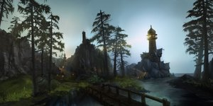 Rating: Safe Score: 126 Tags: building landscape leaves nobody scenic tree water world_of_warcraft User: Rignak
