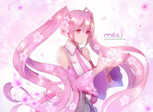 Rating: Safe Score: 67 Tags: astarone cherry_blossoms hatsune_miku long_hair petals pink_eyes pink_hair sakura_miku twintails vocaloid User: FormX