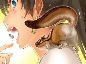 Rating: Safe Score: 127 Tags: andou_chikanori animal anus ass black_hair blue_eyes blush close ganaha_hibiki idolmaster long_hair User: Maboroshi