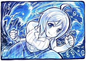 Rating: Safe Score: 30 Tags: animal blue blush dennou_shoujo_youtuber_shiro dolphin monochrome punch sakino_shingetu shiro_(dennou_shoujo_youtuber_shiro) short_hair sketch skirt water User: otaku_emmy