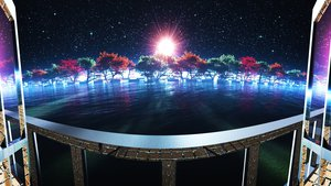 Rating: Safe Score: 121 Tags: 3d original scenic sky stars tree water y-k User: STORM