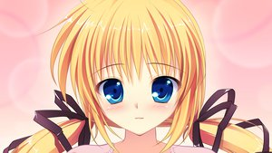 Rating: Safe Score: 49 Tags: blonde_hair blue_eyes close game_cg kazamatsuri_mana manatsu_no_yoru_no_yuki_monogatari mikeou twintails User: Wiresetc
