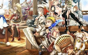 Rating: Safe Score: 39 Tags: group monster_hunter tagme_(artist) tagme_(character) User: luckyluna