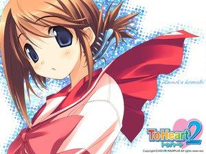Rating: Safe Score: 12 Tags: amaduyu_tatsuki aquaplus komaki_manaka leaf to_heart to_heart_2 User: Oyashiro-sama