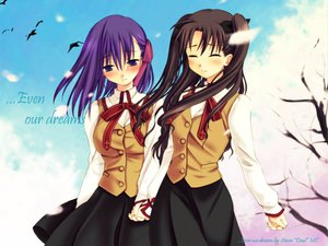 Rating: Safe Score: 8 Tags: fate_(series) fate/stay_night matou_sakura tohsaka_rin User: Oyashiro-sama