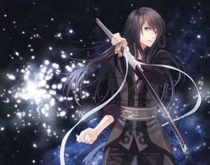 Rating: Safe Score: 76 Tags: katana sword tales_of_vesperia too_mizuguchi weapon yuri_lowell User: Maboroshi