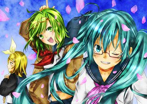 Rating: Safe Score: 13 Tags: gumi hatsune_miku kagamine_rin vocaloid User: SciFi