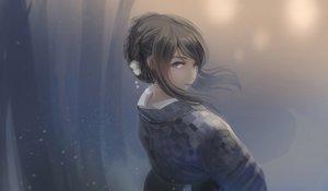 Rating: Safe Score: 157 Tags: black_hair blue_eyes japanese_clothes kikivi kimono original User: Flandre93