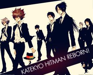 Rating: Safe Score: 32 Tags: gokudera_hayato hibari_kyouya katekyou_hitman_reborn lal_mirch lambo leon male reborn rokudou_mukuro sasagawa_ryohei sawada_tsunayoshi yamamoto_takeshi User: Moony