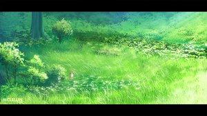 Rating: Safe Score: 32 Tags: animal fox grass green mclelun original scenic tree User: RyuZU
