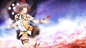 Rating: Safe Score: 116 Tags: arkatopia clouds shameimaru_aya sky touhou wings User: opai