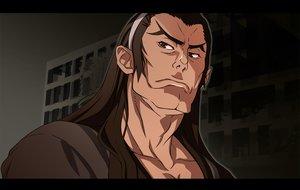 Rating: Safe Score: 16 Tags: all_male brown_eyes brown_hair dramaturgie headband kizumonogatari long_hair male monogatari_(series) nyoronyoro waifu2x User: RyuZU