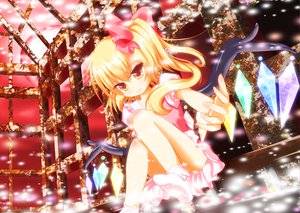 Rating: Questionable Score: 56 Tags: blonde_hair flandre_scarlet panties red_eyes touhou underwear yuimari User: Black_Rock_Shooter