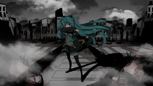 Rating: Safe Score: 87 Tags: aqua_hair hatsune_miku marirero_a twintails vocaloid User: opai