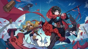 Rating: Safe Score: 9 Tags: blake_belladonna pauld ruby_rose rwby weiss_schnee yang_xiao_long User: RyuZU
