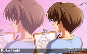 Rating: Safe Score: 6 Tags: clannad ibuki_kouko key logo zoom_layer User: 秀悟
