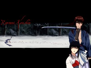 Rating: Safe Score: 4 Tags: blood himura_kenshin japanese_clothes male rurouni_kenshin scar snow sword weapon yukishiro_tomoe User: Oyashiro-sama